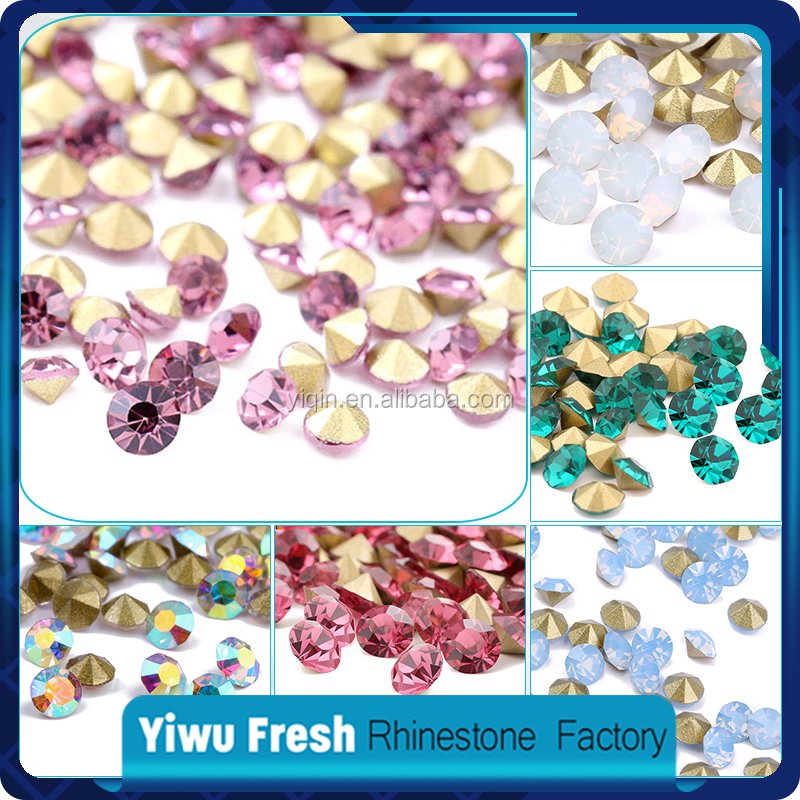 Popular by Customers in India Round Wholesale 888 crystal chaton