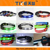 Glow in the Dark Ribbon TZ-PET6100 Manufacturer Plain Leather Dog Collars