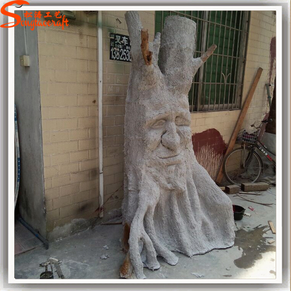 Wholesale Customize Products Artificial Plastic Tree Trunk