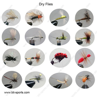 Dry fly fishing flies