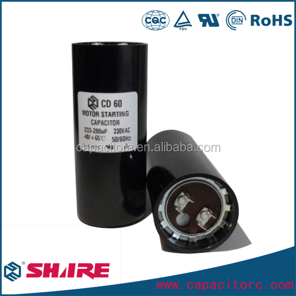 US Free Shipping Motor Start Capacitor 378-454 MFD uF 220-250VAC HVAC Cap