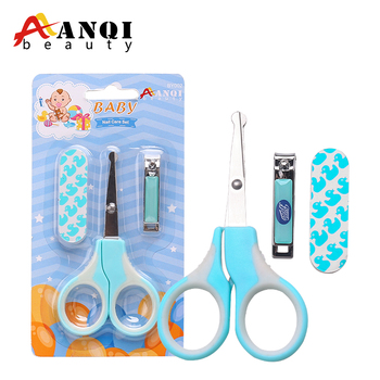 FREE SAMPLE Professional Lovely useful Kids Mini safety Cute Baby Nail Care Manicure Pedicure Set