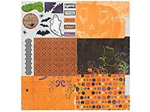 Bulk Buys CG692-100 Individual Fold Out Album Kit - Frightful