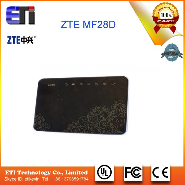 New Unlocked HSPA+ 42Mbps ZTE MF28D Mobile WiFi Hotspot,4G WiFi Router Sim Card