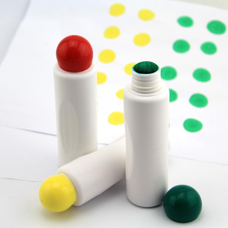 Bingo Markers Pens Dabbers Coloured Black Blue