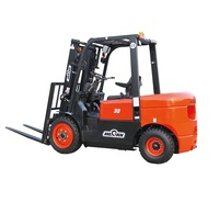 WECAN 3 ton diesel forklift with good performance and low forklift price