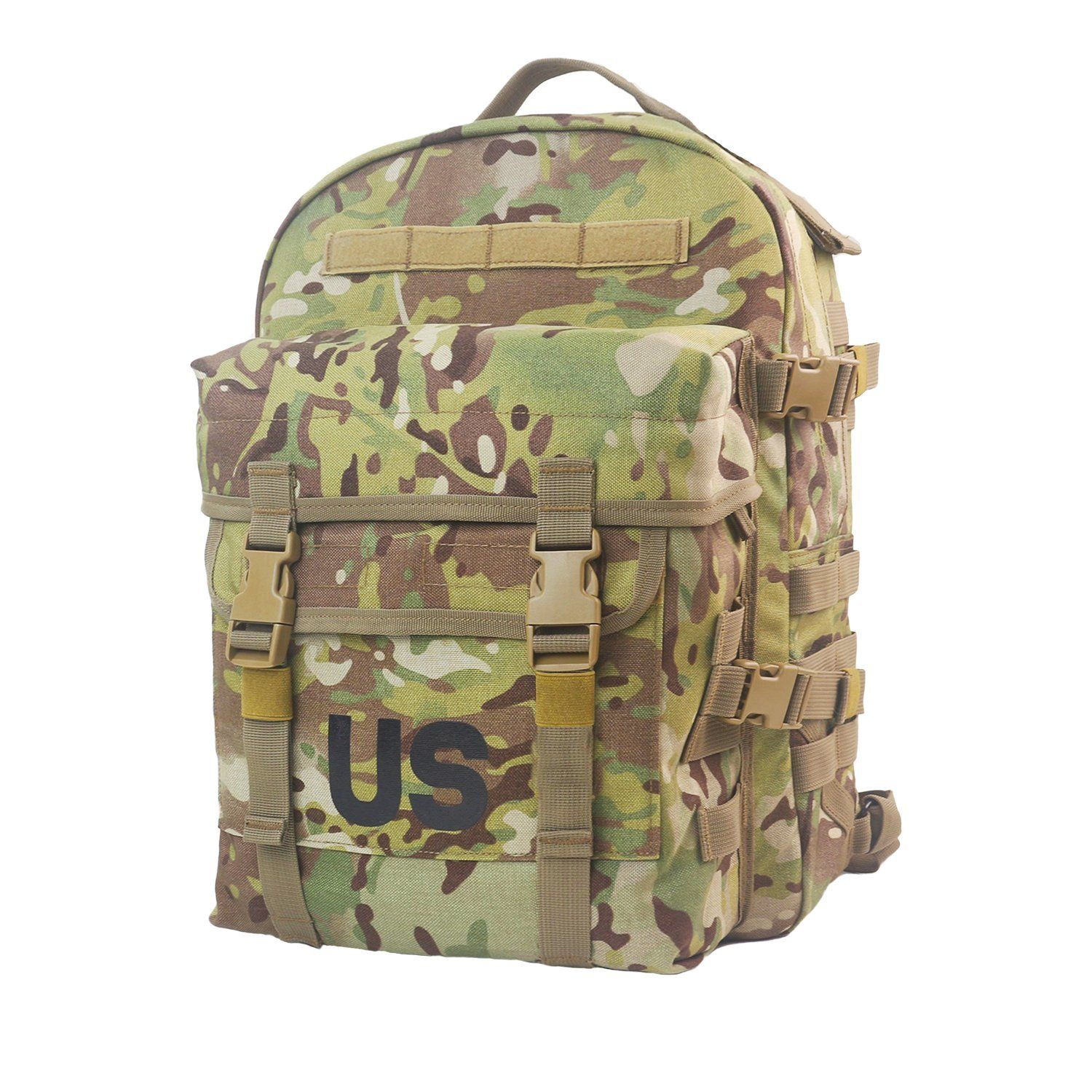 dca3aa6603 Get Quotations · US Molle II Military Multicam Cordura 3 Day Assault Pack  Tactical Backpack for Hunting Hiking