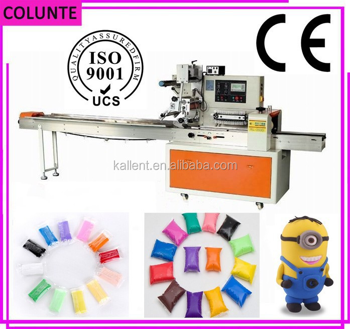 High quality plastic clay making and packing machine