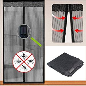 TOOGOO(R) MAGIC DOOR CURTAIN MESH - MAGNETIC FASTENING HANDS FREE INSECT BUG FLY SCREEN