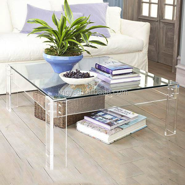 Clear Acrylic Square Dining Table, Clear Acrylic Square Dining Table  Suppliers And Manufacturers At Alibaba.com