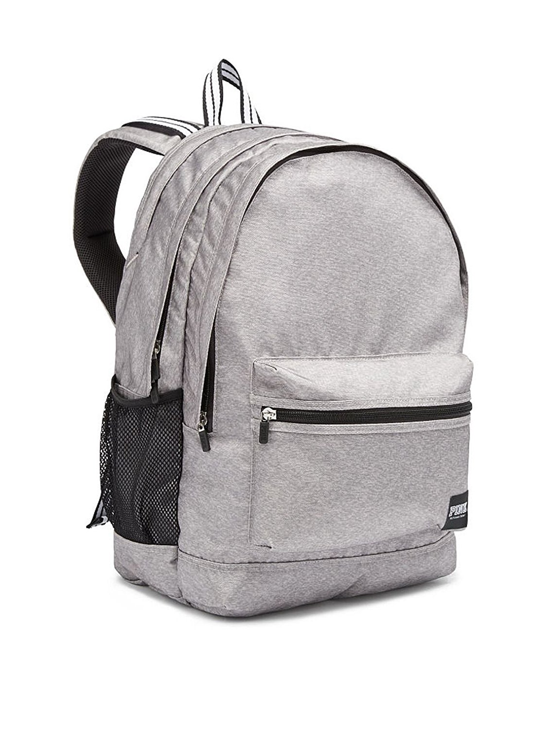 Get Quotations · Victoria s Secret Pink Campus Backpack Light Marl Grey 304a83fe05ea0