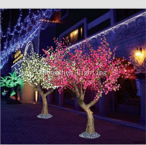 led cherry blossom lighted willow tree
