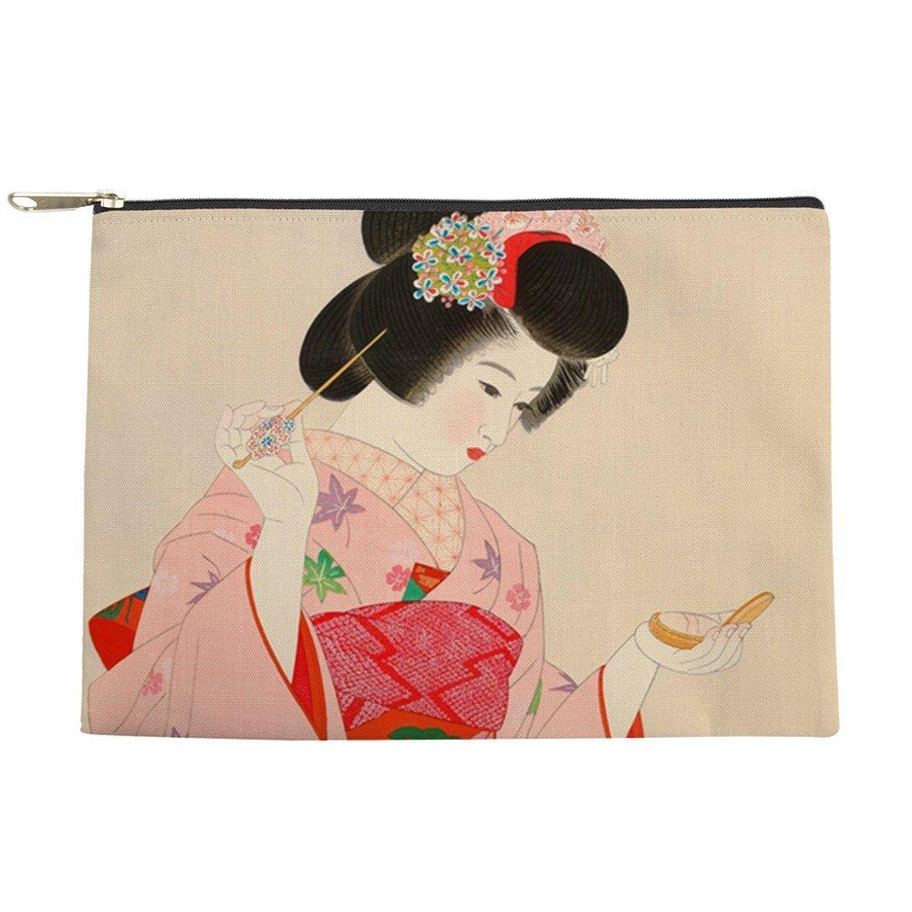 Geisha girl china, vintage hand