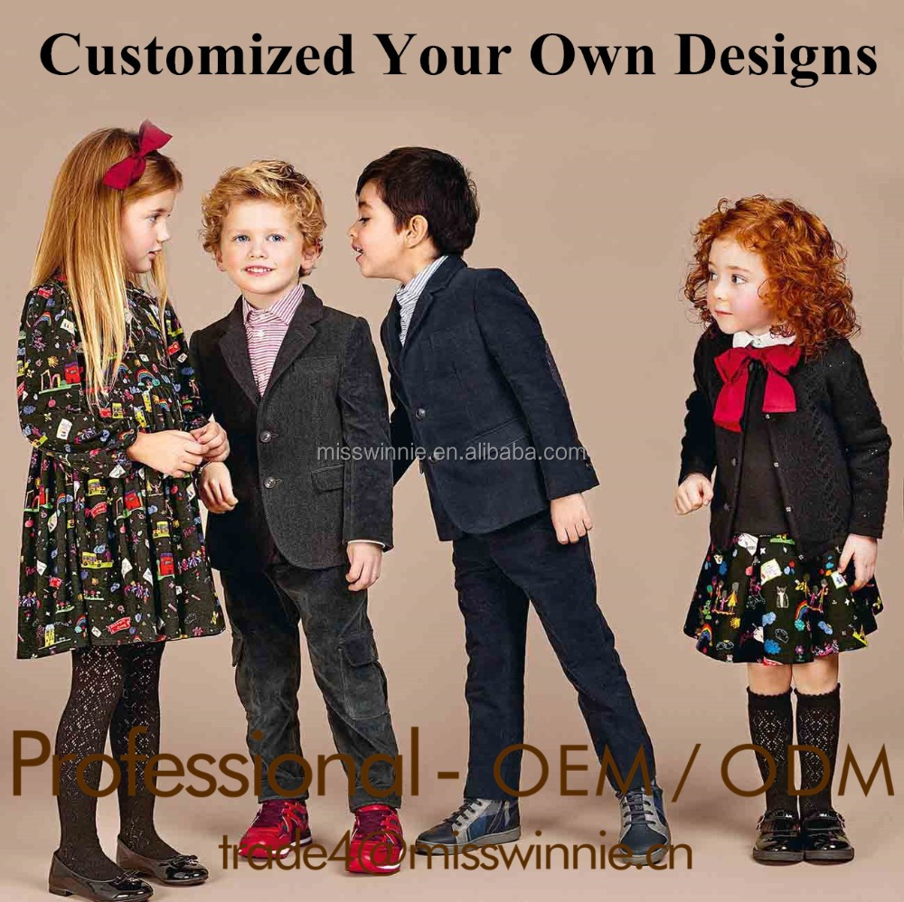 Guangzhou custom apparel kid clothes hot new products for 2017