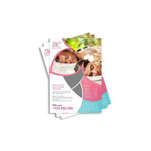 Custom Services Cheap Brochure Leaflet Dl Flyer printing