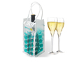 Multicolor hot portable gel wine bottle cooler wrap