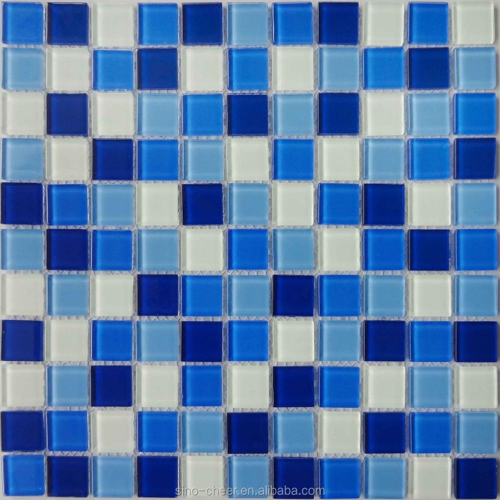 Swimming pool mosaic blue mosaic tiles cheap swimming pool tile ksl 131046 buy swimming pool - Mosaic pool tiles ...
