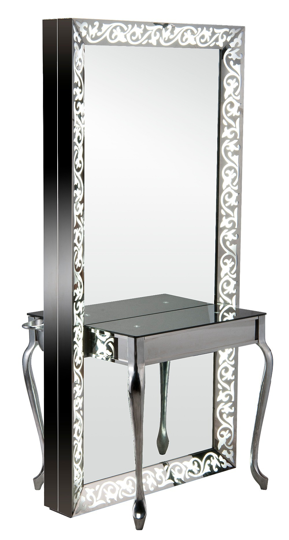 Luxury Modern Beauty Salon Furniture Barber Units ...