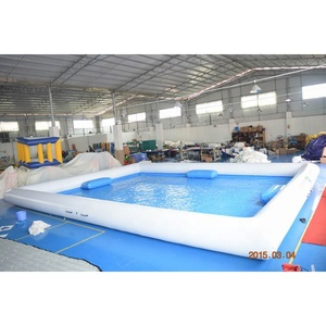 10*8m Square Shape Inflatable Pool For Outdoor Activity