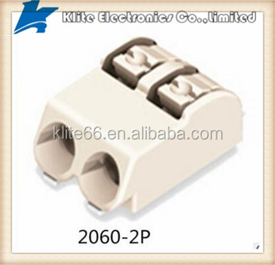 SMD terminal block with push-buttons in tape-and-reel packing 2-pole Pin spacing 4 mm 0.157 in