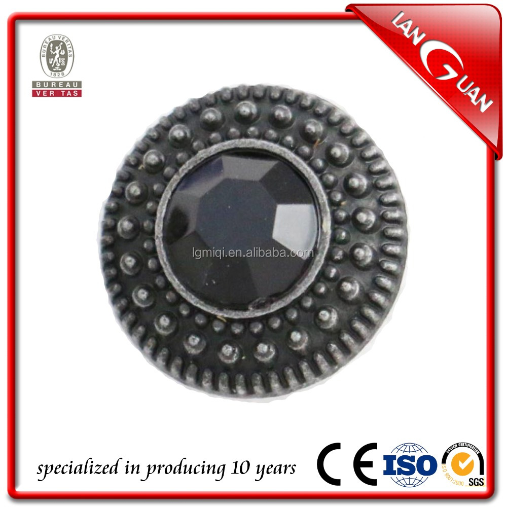 Customized brand high quality metal jeans button rivet