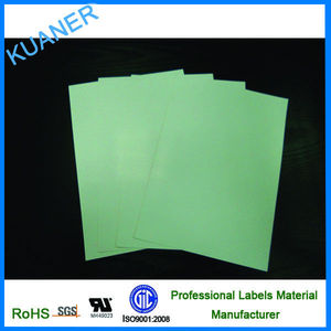 Blank PP a4 self adhesive blank label sheet for Laser Printer