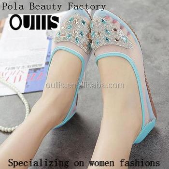 2016 Beautiful Sexy Design Fashion Girl Flat Shoes Women Ladies Pf3525 ,  Buy Flat Shoes Women Ladies,Sexy Ladies Fashion Shoes,Ladies Beautiful Flat