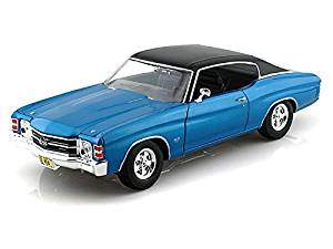 1971 Chevy Chevelle SS454 1/18 Blue