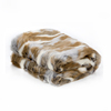 100% acrylic rectangular sequin blanket throw plush faux fur blankets