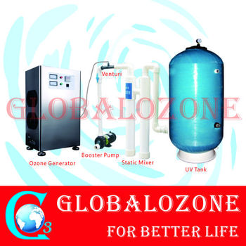 With filter uv sterilizer for swimming pool water purify - Diatomite filter media for swimming pools ...