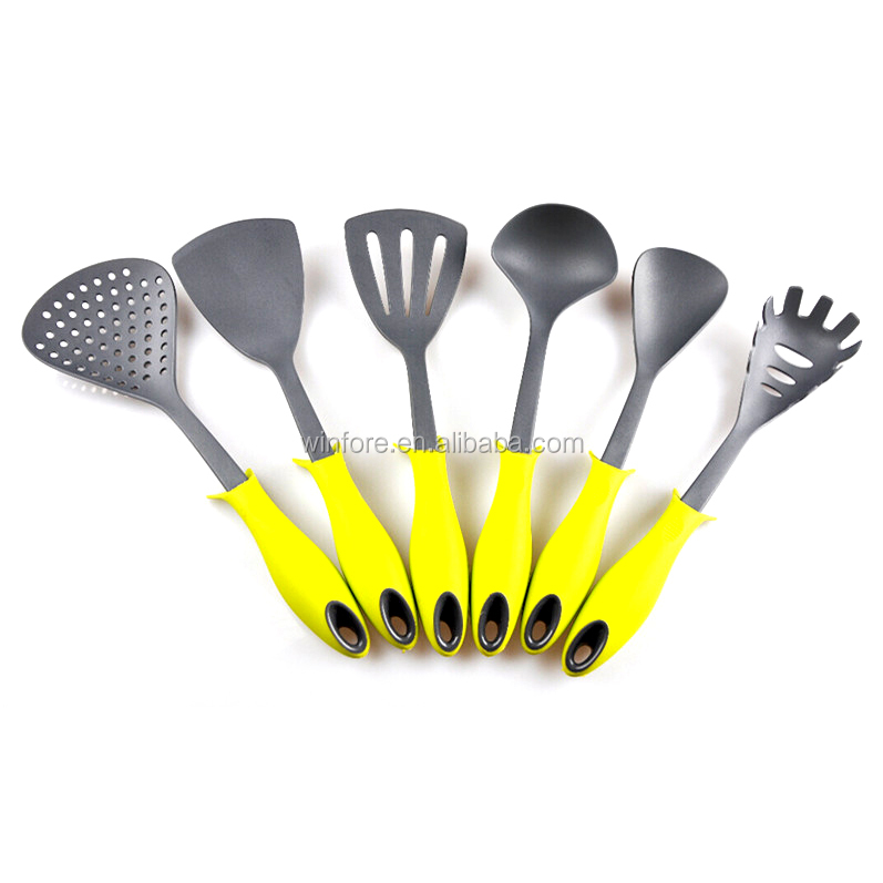 New design common nylon kitchen tool with stand handle