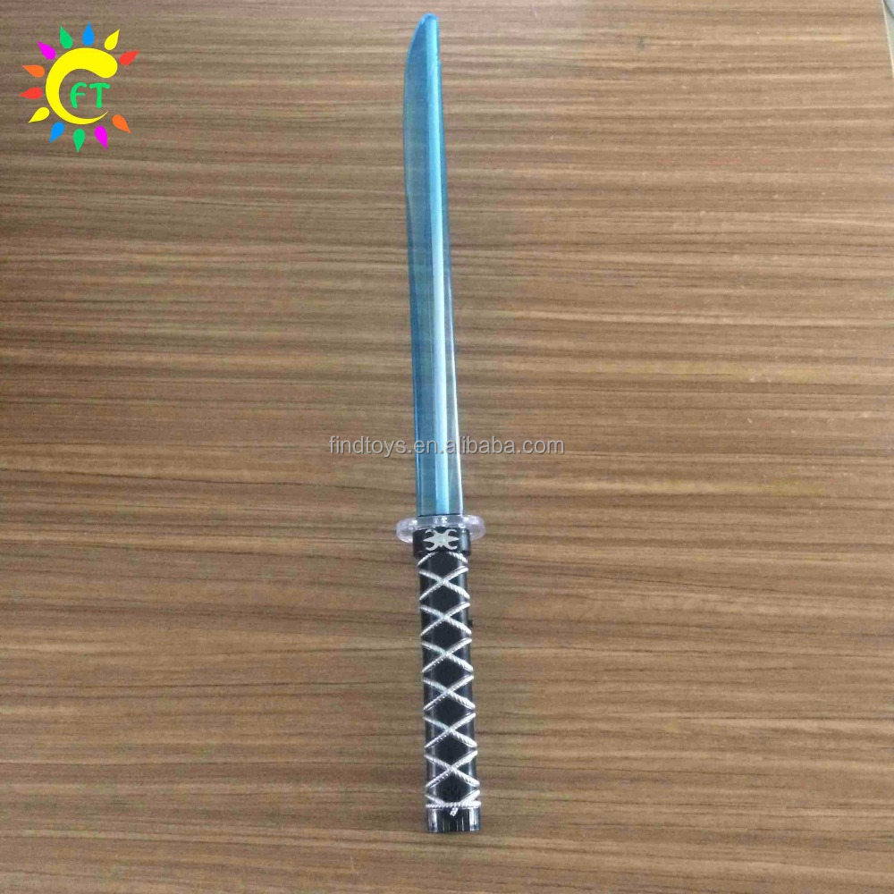 LED Light up Saber Sword with Motion Activated Clanging Sounds
