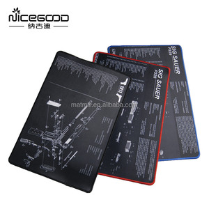 Multifunction Natural rubber large gaming mouse pad/laptop mat