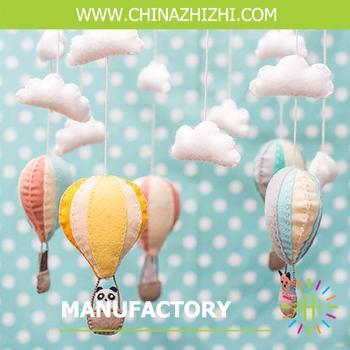 Felt Hot Air Balloon Curtain Diy Kits Children Kit Sewing Stuffed Horse Toy Craft For Animal