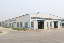 Hight Quality Living two story steel structure warehouse