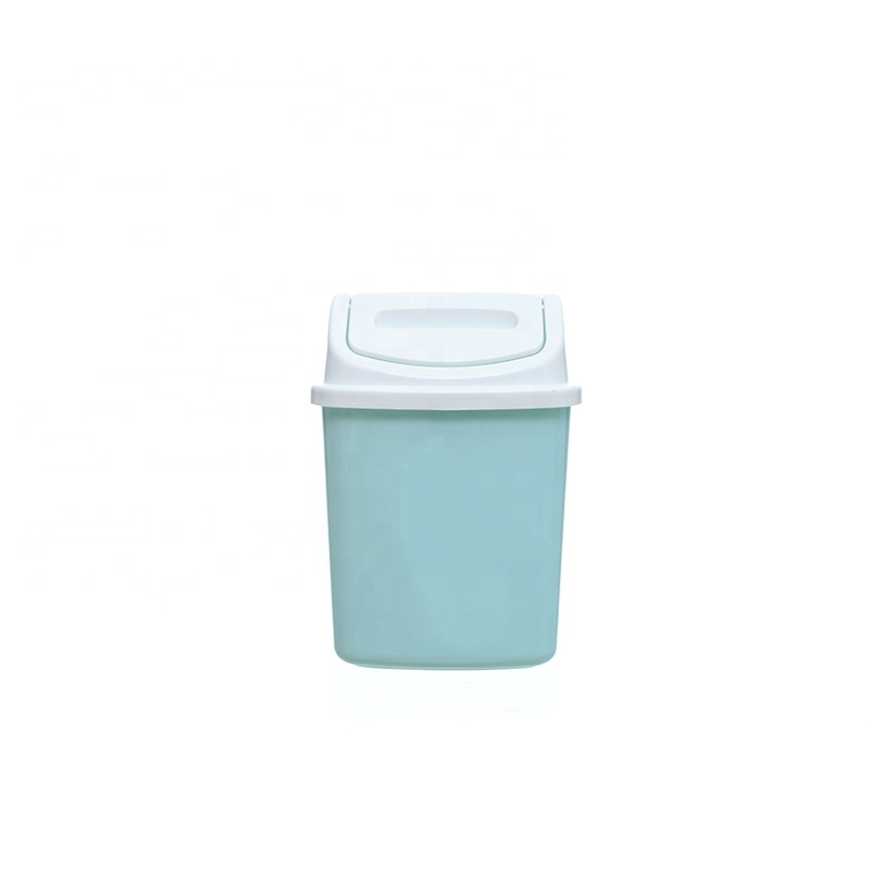 4L New year's Day PP waste bin <strong>plastic</strong>