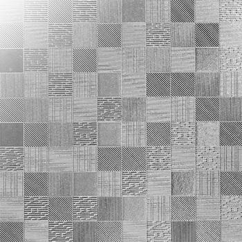 Bathroom Tile Metallic Tile Rustic Wall Tile Grey Silver Color