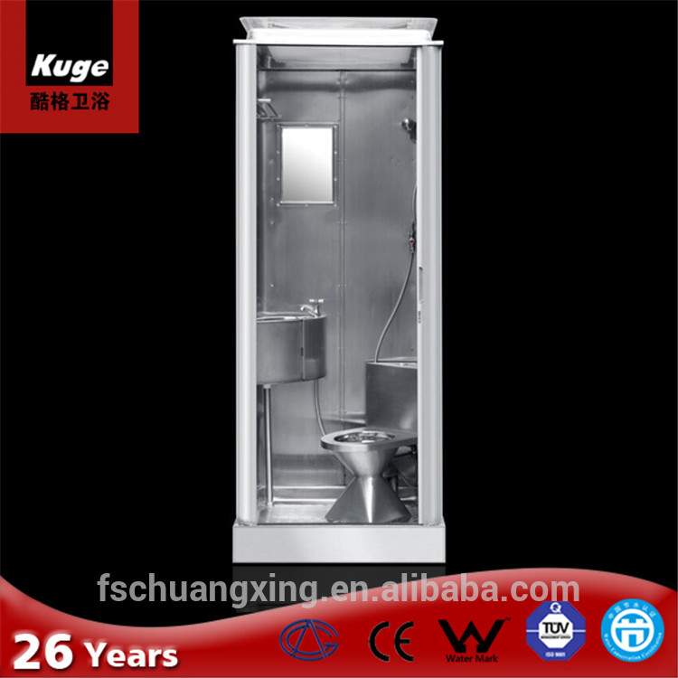 Chinese Supplier Ss 316# Army Used One Piece Shower Stall Building ...