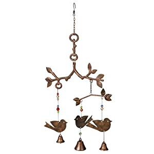Grasslands Road In The Garden Bird Mobile/Wind Chime