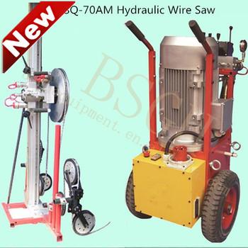 Wall Concrete Cutter Wire Saw Cutting Machine Bs-80am/70am - Buy ...