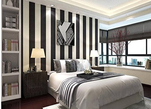 Cheap Black White Striped Wallpaper, find Black White ...