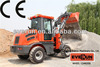 EVERUN ER10 With CE certificate Wheel Laoder Moving Type 4 Wheel Drive Equipment Backhoe Loader