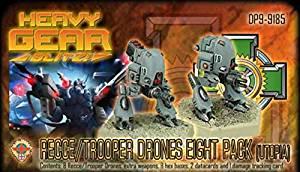Heavy Gear Blitz: Utopian - Recce/Trooper Drones Eight Pack
