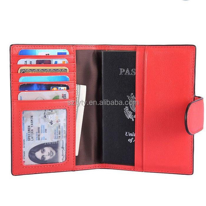 Rfid Blocking Safety Passport Wallet