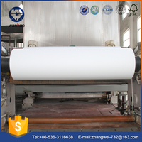 china factory price white kraft paper roll