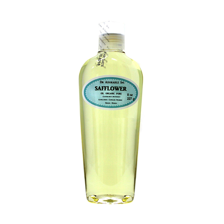 Safflower OIL High Oleic Organic 100% Pure 8 Oz