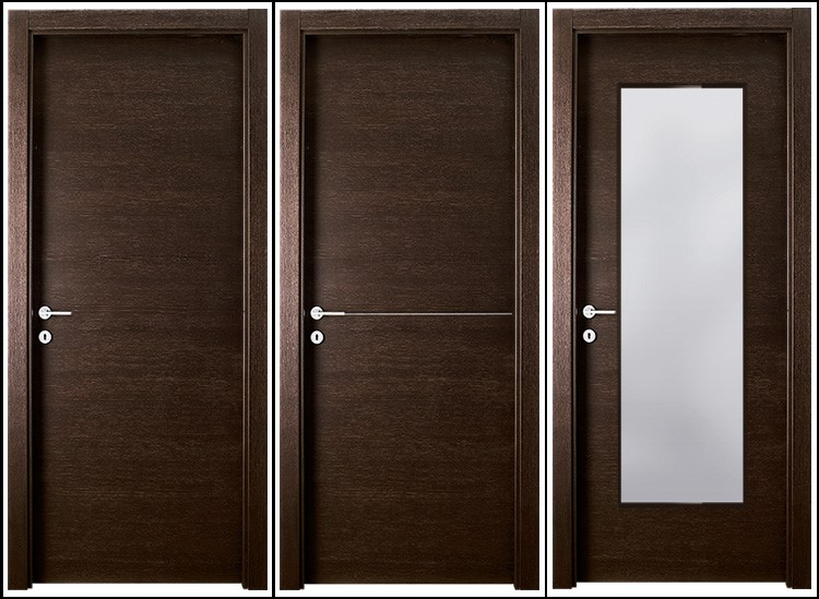 Flat design paint solid wood interior door buy solid for Flat solid wood door