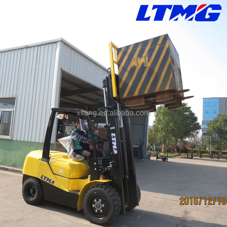optional engines good quality hydraulic forklift 3 ton 3.5 ton diesel forklift