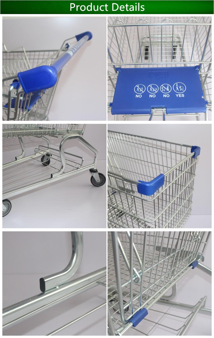 Voorkeur Warm Te Koop Met De Hand Pull Trolley/boodschappen Kar/german @DP22