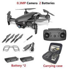 Teeggi M69 FPV Drone 4K с 1080P широкоугольным WiFi-камерой HD Складная мини-вертолет с квадрокоптером VS VISUO XS809HW E58 X12 809S Dron(Китай)